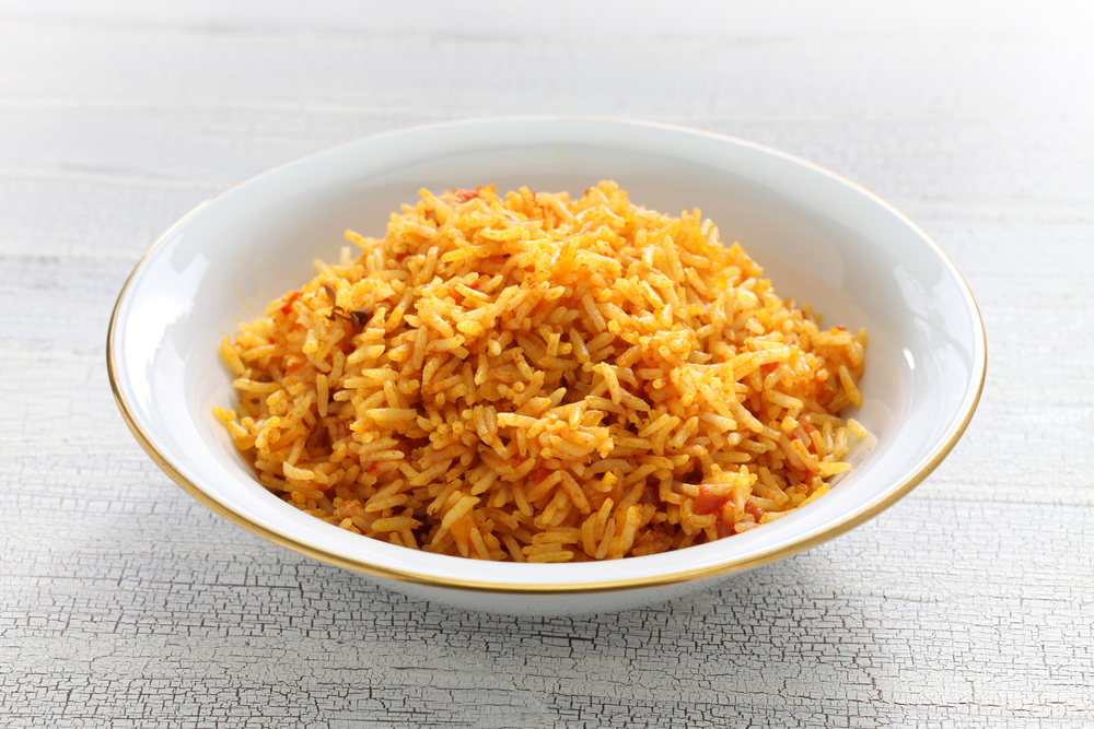photo of jollof rice from nigeria